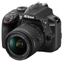 Цифровой фотоаппарат Nikon D3400 + AF-P 18-55VR kit (VBA490K001)