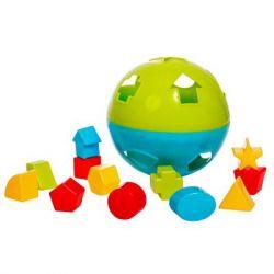 Развивающая игрушка BeBeLino Мяч-сортер (57117)
