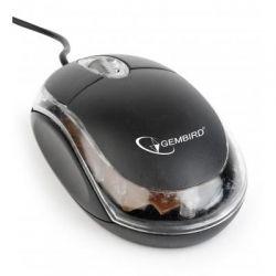Мышь Gembird MUS-U-01-BKT, USB, черный