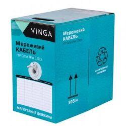 Кабель сетевой Vinga FTPCat5e4Pair0.5CCA-305
