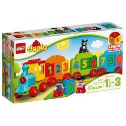 Конструктор LEGO Duplo Поезд Считай и играй (10847)