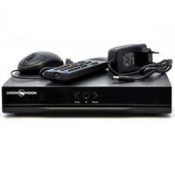Видеорегистратор AHD Green Vision GV-A-S032/04 (4-х канальный гибридный AHD видеорегистратор)