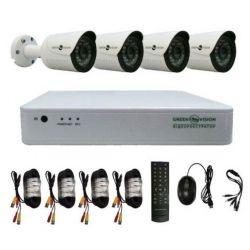 Комплект видеонаблюдения Green Vision GV-K-G02/04 (4957)