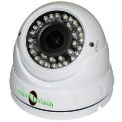 """Гибридная антивандальная камера GreenVision GV-052-GHD-G-DOA20-30 1080p Матрица 1/2,7""""CMOS Aptina 2MP (AR0237+NVP2441) Варифокальный объектив 2.8-12мм, дальность ИК подсветки 30м, потребление тока 700mA.(4936)"""