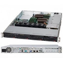 Корпус для сервера Supermicro CSE-815TQ-600WB