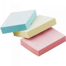 Бумага для заметок BUROMAX with adhesive layer 38х51мм, 3*100sheets, colors mix,blister (BM.2319-99)