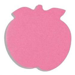 "Бумага для заметок Buromax with adhesive layer ""Apple"", 50 sheets, NEON colors mix (BM.2360-99)"