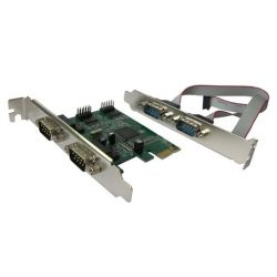 Контроллер PCI-E Dynamode RS232-4port-PCIE RS232 (COM) 4 канала 16С950 UART чипсет Moschip 9904