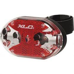 Фонарь велосипедный XLC CL-R02 'Thebe 5X' (2500210800)