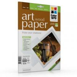 Фотобумага ColorWay глянцевая, с тесненной фактурой имитации дерева, 230 г/м2, Letter, 10 л (PGA230010WLT)