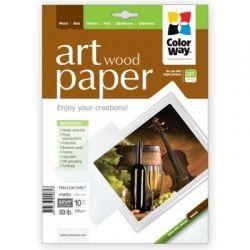 Фотобумага ColorWay матовая, с тесненной фактурой имитации дерева, 220 г/м2, Letter, 10 л (PMA220010WLT)