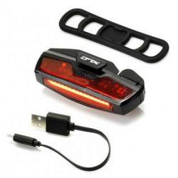 Фонарь велосипедный XLC CL-R21, USB, Led (2500213300)