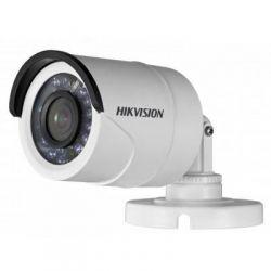 Наружная видеокамера HDTVI HikVision DS-2CE16D0T-IRF (1080p мультиформатная Turbo HD видеокамера; Поддержка форматов: TVI/AHD/CVI/CVBS; Чувствительность: 0.01 Лк/F1.2(день), 0 Лк c Ик; Объектив: f=3.6 мм (угол обзора 82°); Функции: день/ночь (ICR), SMART ИК; 1-TurboHD выход; Ик подсветка 20 метров; IP66, DC 12В/4Вт, ф70х150мм, 400г)