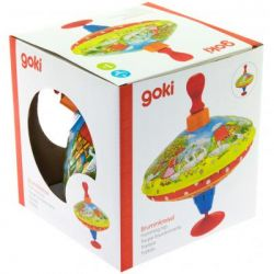 Развивающая игрушка Goki Юла Ферма (53057)