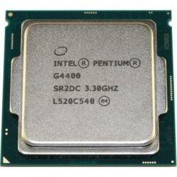 Процессор Intel Pentium (LGA1151) G4400, Tray, 2x3,3 GHz, HD Graphic 510 (1050 MHz), L3 3Mb, Skylake, 14 nm, TDP 54W (CM8066201927306)