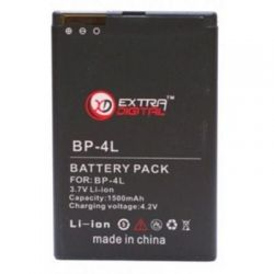 Аккумуляторная батарея EXTRADIGITAL Nokia BP-4L (1500 mAh) (DV00DV6025)