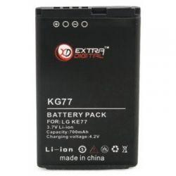Аккумуляторная батарея EXTRADIGITAL LG KG77 (700 mAh) (DV00DV6058)