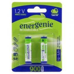Аккумулятор AAA, 900 mAh, Energenie, 2 шт, 1.2V, Blister (EG-HR03-2BL/2)