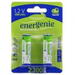Аккумулятор AA, 2300 mAh, Energenie, 2 шт, 1.2V, Blister (EG-HR6-2BL/2)
