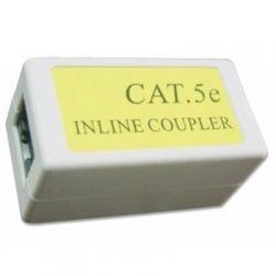 Кабельный соединитель RJ45 8P8C (1 мама - 1 мама) 2-х сегментов кабеля UTP Cablexpert NCA-LC5E-001