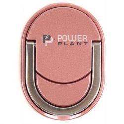 Держатель для смартфонов PowerPlant с кольцом, розовое золото (CA910328)