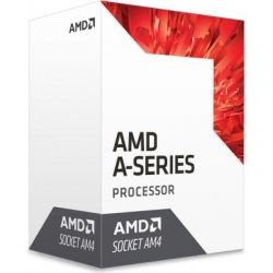 Процессор AMD (AM4) A8-9600, Box, 4x3,1 GHz (Turbo Boost 3,4 GHz), Radeon R7 (900 MHz), L2 2Mb, Bristol Ridge, 28 nm, TDP 65W (AD9600AGABBOX)