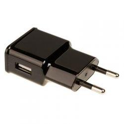 Зарядное устр-во USB 220В Grand-X USB 5V 1A (CH-765B) Black с защитой от перегрузки