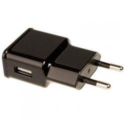 Зарядное устр-во USB 220В Grand-X USB 5V 2.1A (CH-03UMB) с защитой от перегрузки+cable Micro USB - Картинка 1