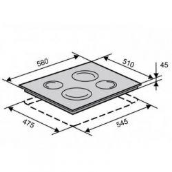 Электрическая варочная поверхность VENTOLUX VB 6004 TC - Картинка 6