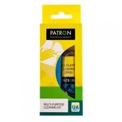 НАБОР ДЛЯ ОЧИСТКИ ОРГТЕХНИКИ PATRON 2в1 (Спрей 100мл + Салфетка) F3-018