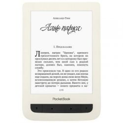 Электронная книга PocketBook 625 Basic Touch 2, WiFi, Biege (PB625-F-CIS)