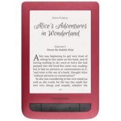 "Электронная книга 6"" PocketBOOK 626 Touch Lux 3 Red (PB626(2)-R-CIS) 1024x758, 4Gb, Wi-Fi, PDF, подсветка"