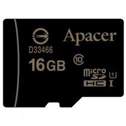 Карта памяти 16 Gb microSD Apacer class 10 UHS-1 (без адаптера) (AP16GMCSH10U1-RA)