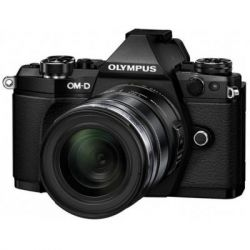 Цифровой фотоаппарат OLYMPUS E-M5 mark II 14-150 II Kit + HLD-8 + BLN-1 black/black (V207043BE010)