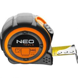 Рулетка Neo стальная лента 3 м x 16 мм, магнит (67-183) - Картинка 1