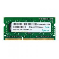 Модуль памяти для ноутбука SoDIMM DDR3 2GB 1333 MHz Apacer (DS.02G2J.H9M)