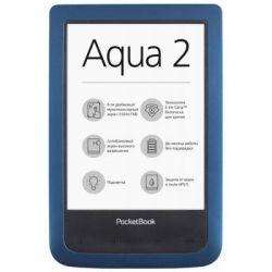 """Электронная книга 6"""" PocketBOOK 641 Aqua Dark Blue (PB641-A-CIS) E-Ink Pear 800х600, Wi-Fi, 256Mb, 4Gb, microUSB"""