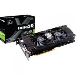 Видеокарта GeForce GTX1070Ti, Inno3D, X2, 8Gb DDR5, 256-bit, DVI/HDMI/3xDP, 1683/8000 MHz, 8-pin (N107T-1SDN-P5DN)