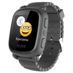 Смарт-часы Детские смарт-часы Elari KidPhone 2 Black с GPS-трекером (KP-2B)