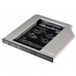 """Карман для ноутбука под 2.5"""" SSD/Sata винт (вместо привода) Slim 9.5mm (HDC-24N) Grand-X"""