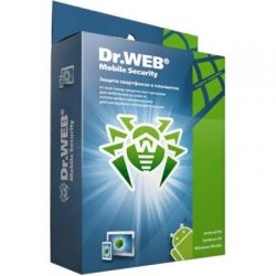 Антивирус Dr. Web Mobile Security + Комплексная защита 1 ПК 2 года (новая лице (LHM-AA-24M-1-A3)