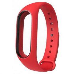Ремешок для фитнес браслета Xiaomi Mi Band 2 Red (Р27686)