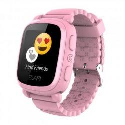 Смарт-часы Детские смарт-часы Elari KidPhone 2 Pink с GPS-трекером (KP-2P)
