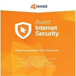Антивирус Avast Internet Security 1 ПК 1 год (продление эл. лицензии) (AVAST-IS-8-R-1Y-1P)