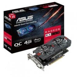 Видеокарта Radeon RX 560 OC, Asus, EVO, 4Gb DDR5, 128-bit, DVI/HDMI/DP, 1197/6000MHz (RX560-O4G-EVO)