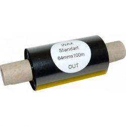 Риббон TAMA WAX 64mm x 100m, втулка 12.7mm (11175)
