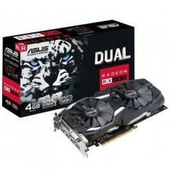 Видеокарта Radeon RX 580, Asus, DUAL, 4Gb DDR5, 256-bit, DVI/2xHDMI/2xDP, 1360/7000MHz, 8-pin (DUAL-RX580-4G)