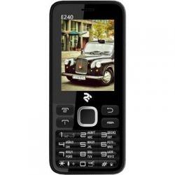 Мобильный телефон Twoe E240 Dual Sim Black (708744071132)