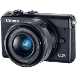 Цифровой фотоаппарат Canon EOS M100 + 15-45 IS STM Black (2209C048)