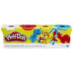 Набор для творчества Hasbro Play-Doh Набор из 4 баночек (B5517)